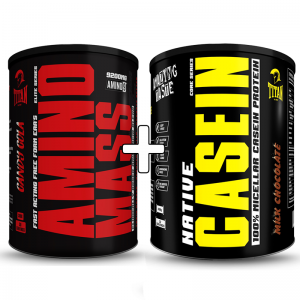 Titan Amino Mass and Native Casein Combo